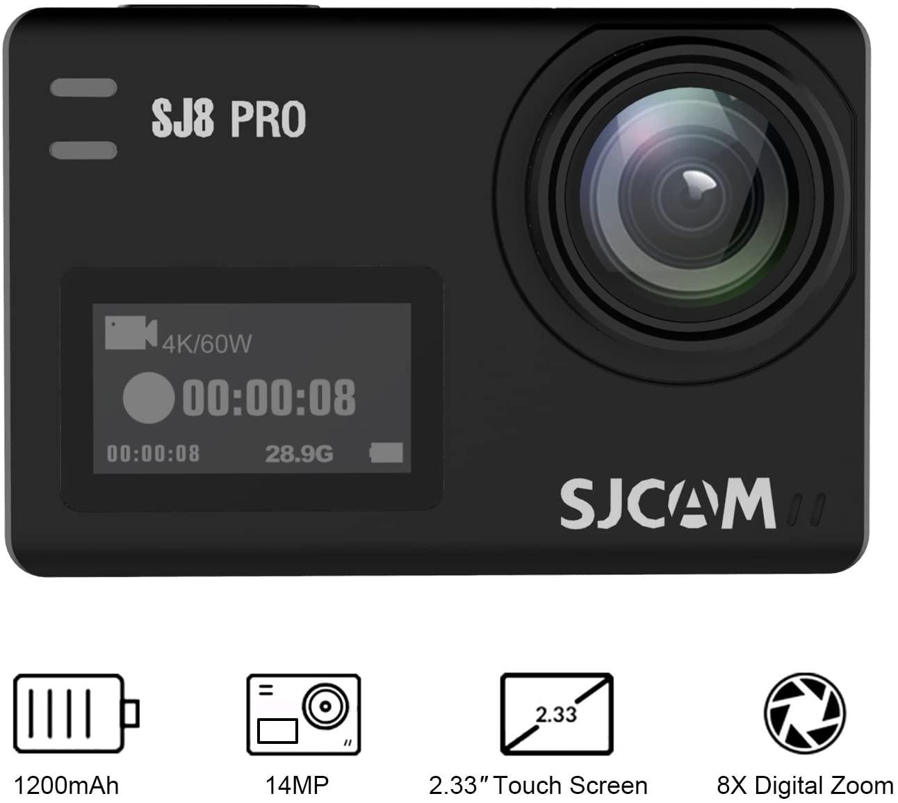 cámara deportiva para Surf, kite y sup SJ CAM SJ8 Pro
