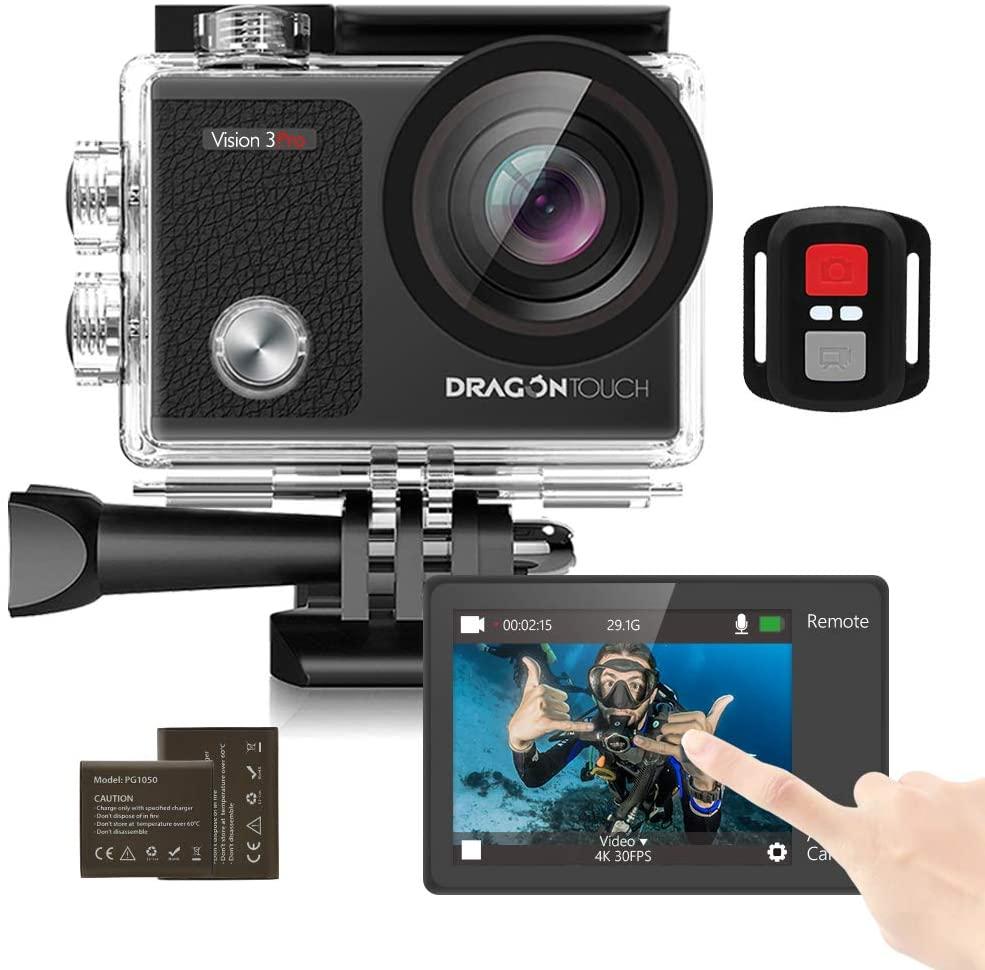 Mejores cámaras deportivas Dragon Touch Vision 3