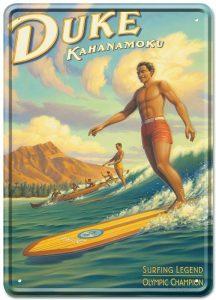 el surf por Duke Kahanomoku