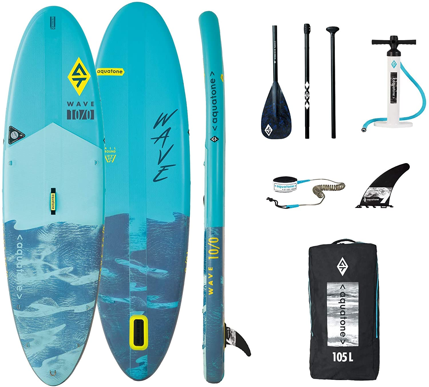 tablas de paddle surf baratas aquatone wave 10