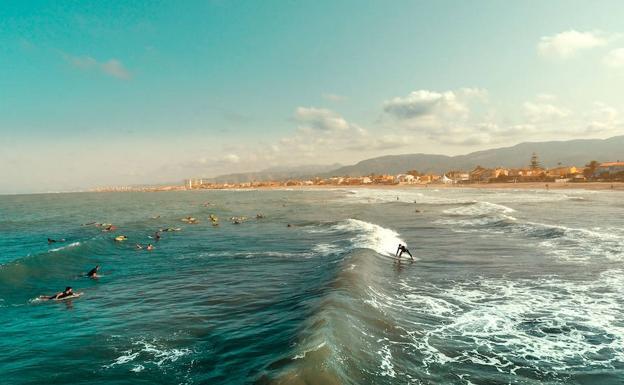 surf en España, cullera