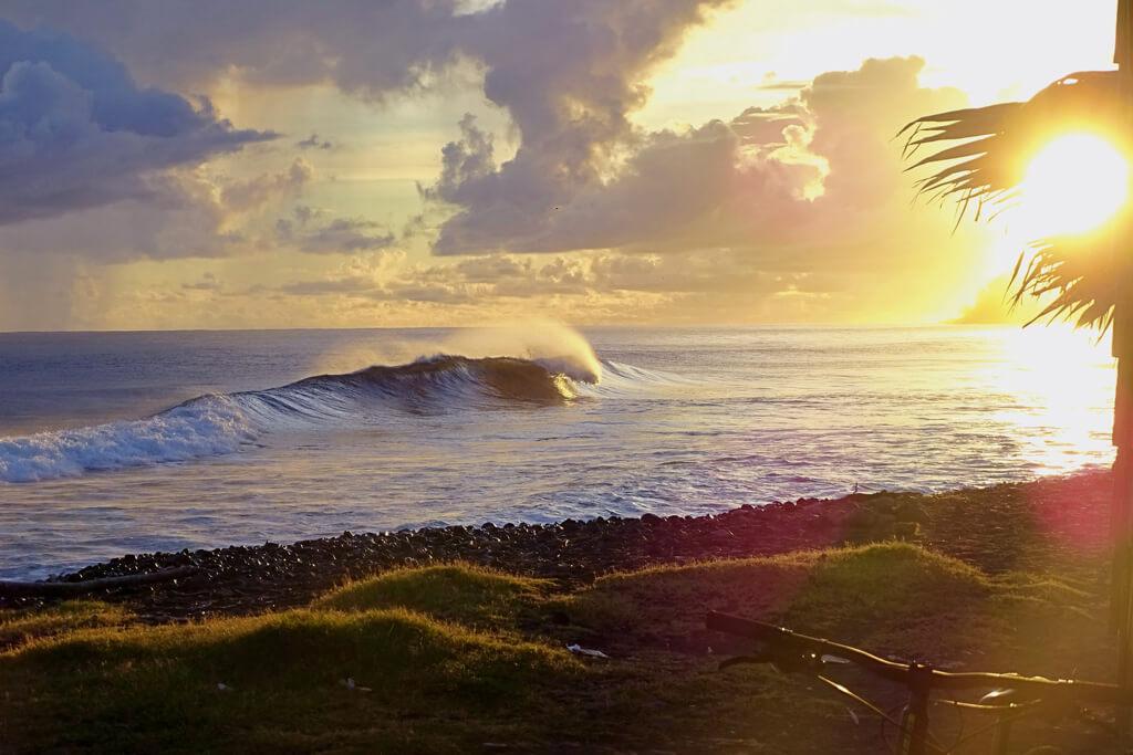 destinos para surfear. Tahití, Polinesia Francesa