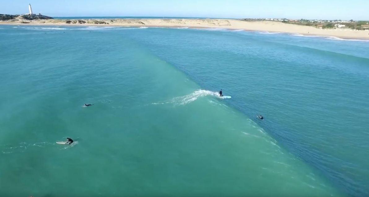 surf en España, los caños de meca