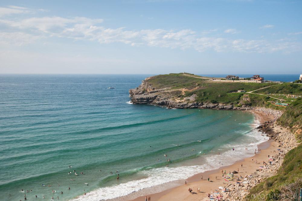 ¿Dónde hacer surf en España? Playa de los Locos, Cantabria, Spain