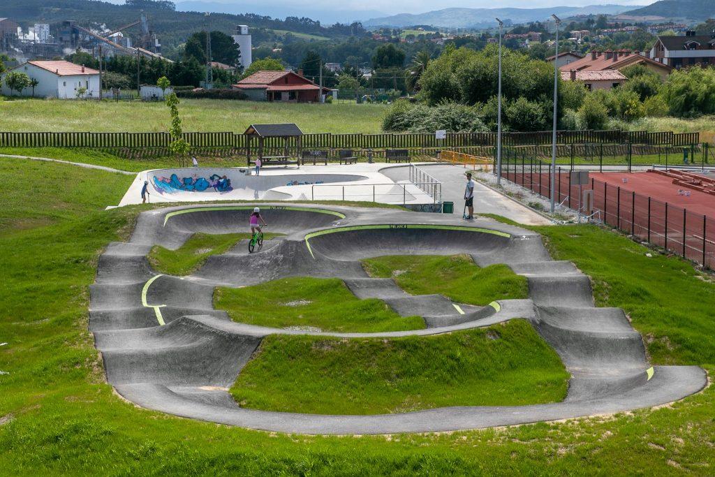 Pump track Polanco, cantabria
