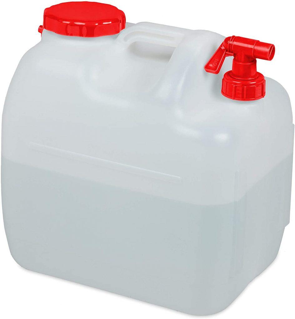Depósito de agua para ducha portátil