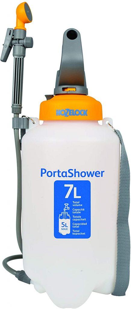 Duchas portátiles presión 7 litros