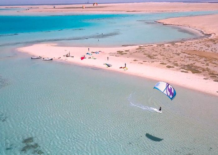 spots de kitesurf, el Gouna